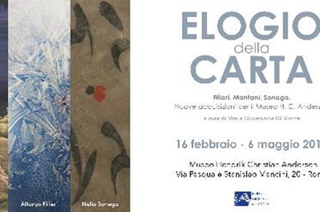 ELOGIO DELLA CARTA, Filieri, Montani, Sonego. Nuove acquisizioni per il Museo H. C. Andersen*