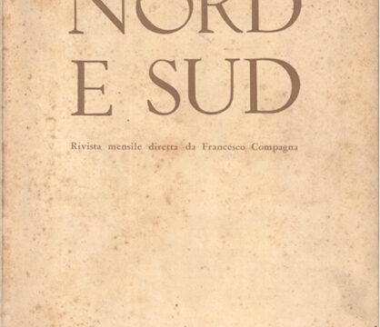 GIORGIO MOIO, «Nord e Sud»: una rivista politica in difesa del territorio