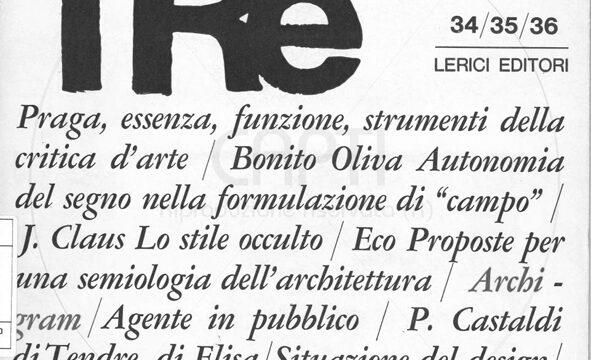 GIORGIO MOIO, «Marcatrè»: notiziario di cultura contemporanea