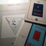 ROSA FRULLO, Una scrittura e una poesia d'attesa quella di Giorgio Moio