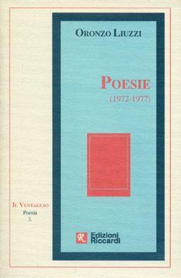 RAFFAELE PIAZZA, Poesie di Oronzo Liuzzi