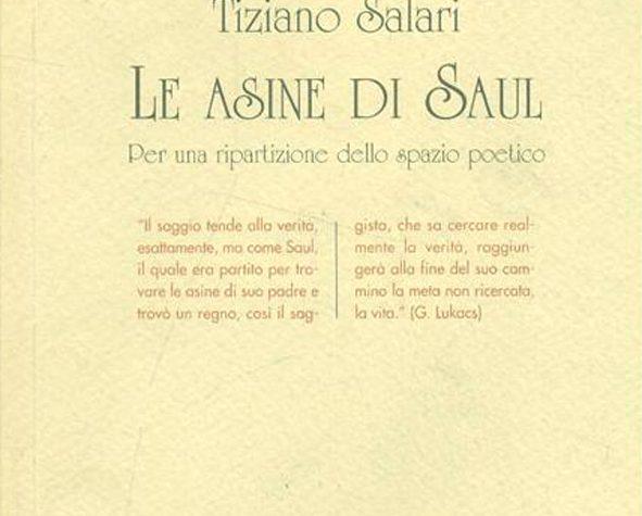GIORGIO MOIO, Le asine di Saul di Tiziano Salari